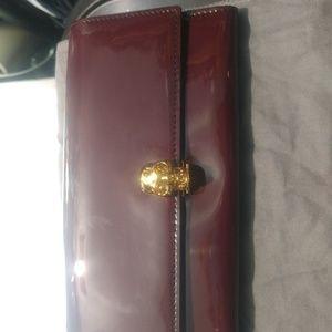 Alexander McQueen Skull Continental Wallet